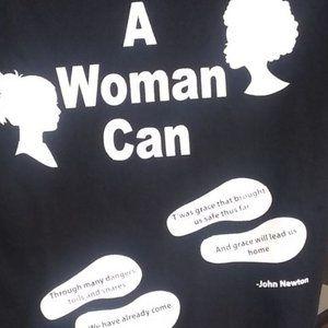 Tops - A Woman can shirt